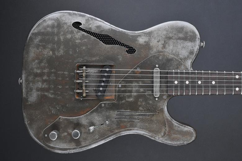 James Trussart Deluxe Steelcaster Rust O Matic Keymusic