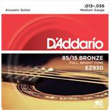 D'Addario EZ930 American Bronze 85/15 Medium 13-56