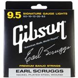 Gibson SBG-ESL Earl Scruggs Signature Light Banjo strings, 0095 - .020