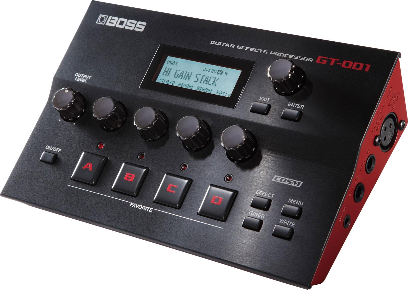 boss gt 001 guitar effects processor keymusic. Black Bedroom Furniture Sets. Home Design Ideas