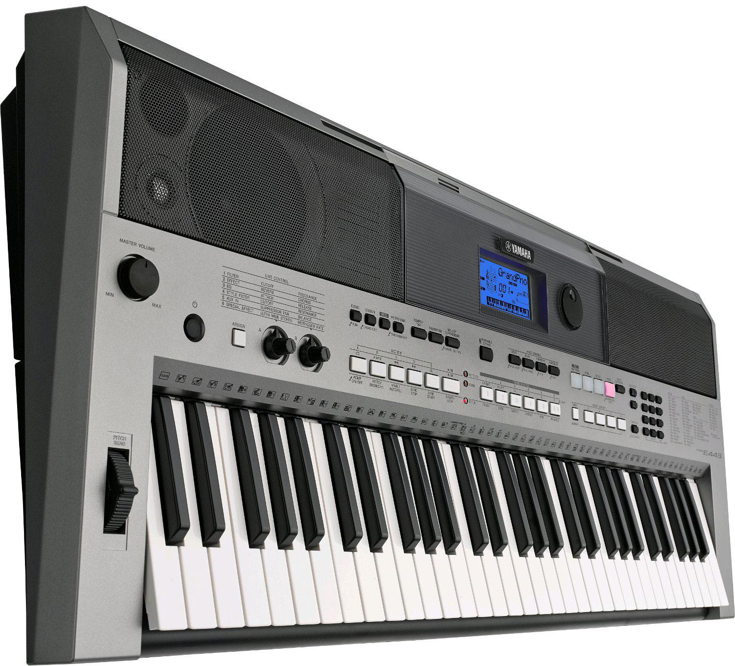 Yamaha psr e443 keymusic for Yamaha psr ew