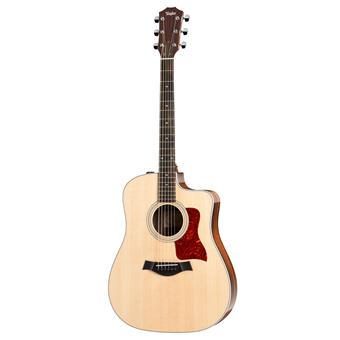 Taylor 210ce DLX acoustic-electric cutaway dreadnought guitar