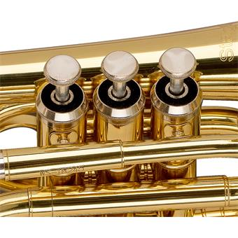 Stagg WS-TR245S Bb Pocket Trumpet blaasinstrument