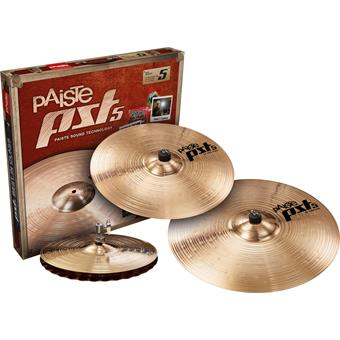 Paiste PST5 New Rock Set cymbal set