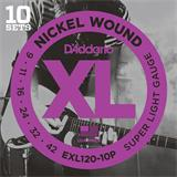 D'Addario EXL120-10P Super Light 9-42
