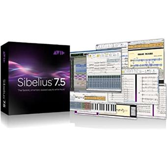 Sibelius Sibelius 7.5 with Audioscore/Photoscore * notatiesoftware