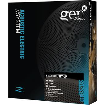 Zildjian G16BS2DS Gen16 Buffed Bronze Box Set AE 368 bekkenpads
