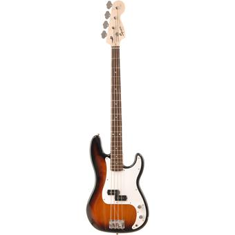 Squier Affinity P Bass Brown Sunburst 4-Saiter Bass