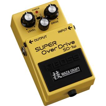 Boss SD-1W SUPER OverDrive overdrive pedal