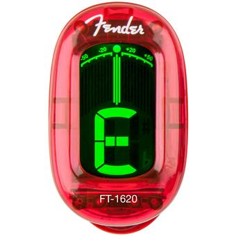 Fender FT-1620 California Clip-On Tunes Candy Apple Red clip-on tuner