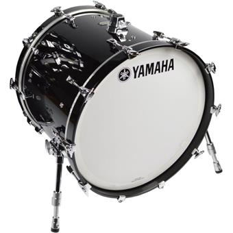 Yamaha AMB2218 Solid Black bass drum
