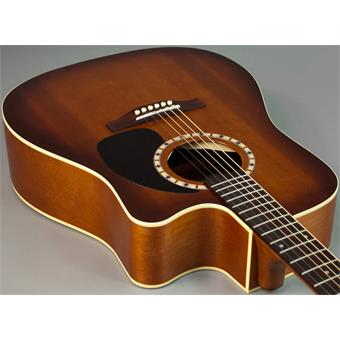 Art & Lutherie Cutaway Cedar CW QI Antique Burst acoustic-electric cutaway dreadnought guitar