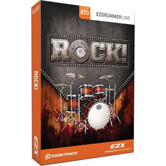 Toontrack Rock! EZX sound library