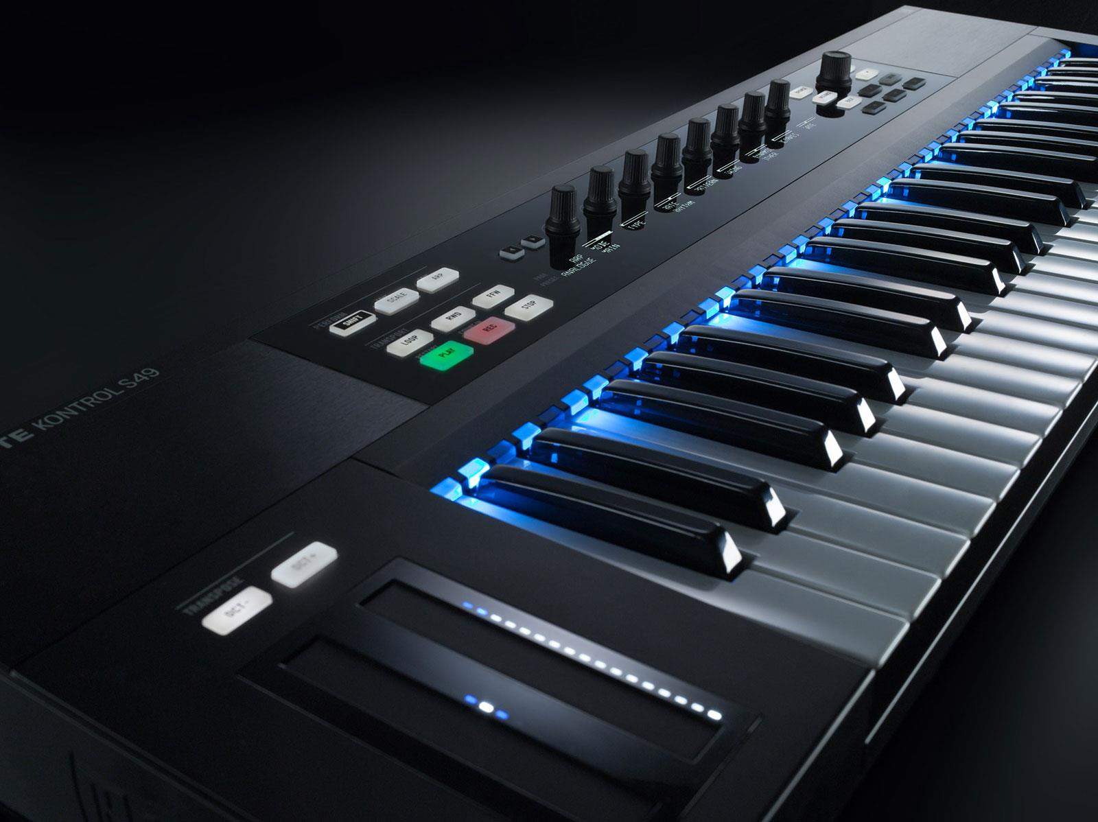 native instruments komplete kontrol s49 keymusic. Black Bedroom Furniture Sets. Home Design Ideas