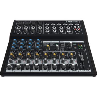 Mackie Mix12FX analog mixer