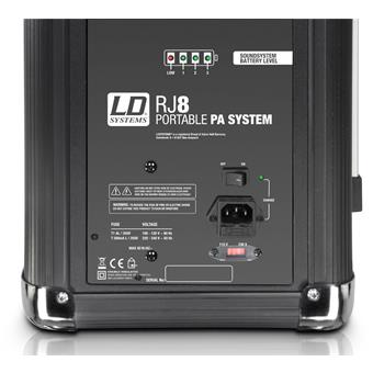 LD Systems RoadJack 8 Home