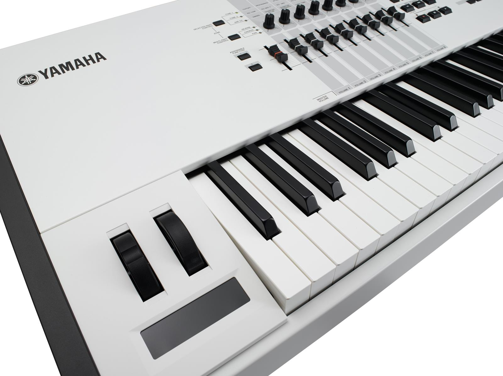 Yamaha Motif XF8 White 40th Anniversary | Keymusic