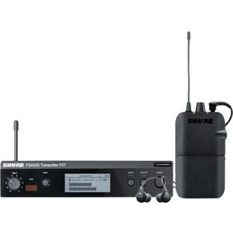 Shure P3TR112GR-K12 (NL) PSM300 Stereo Personal Monitor System wireless in-ear monitoring