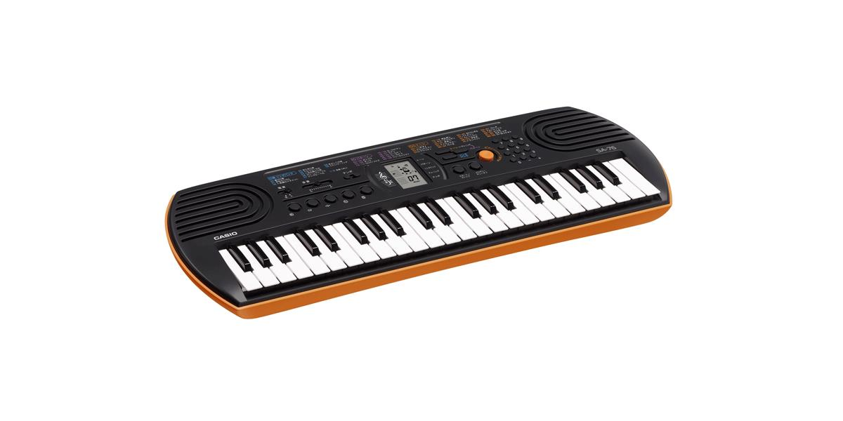 casio sa 76 keymusic. Black Bedroom Furniture Sets. Home Design Ideas
