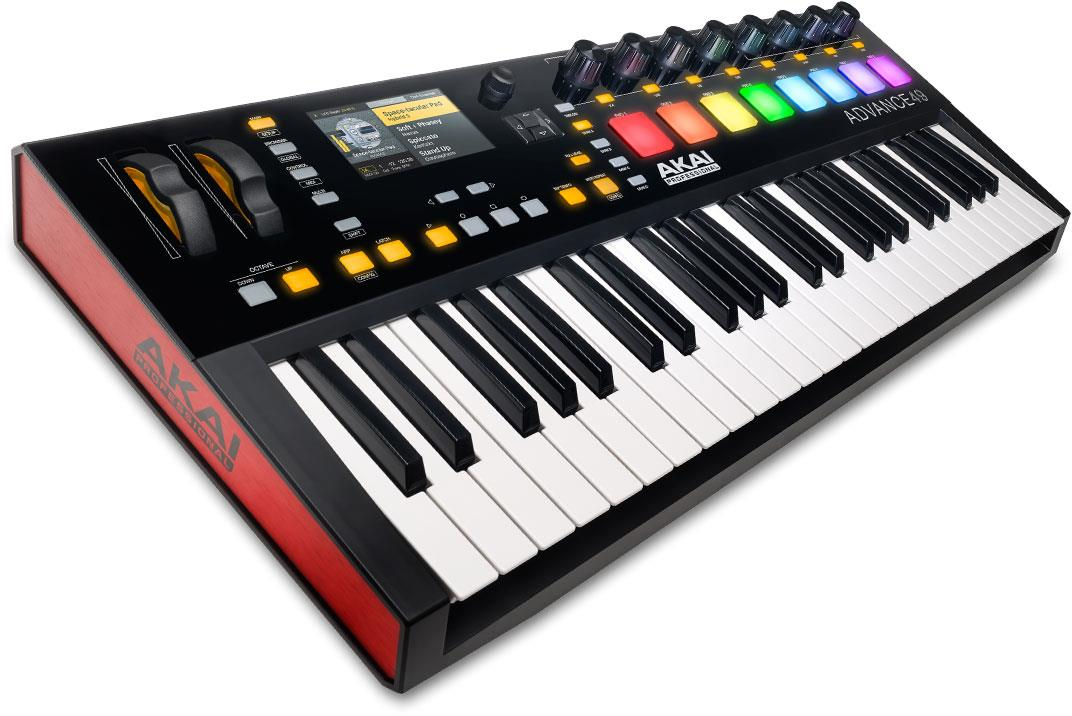 AKAI Advance 49 USB-MIDI-keyboard