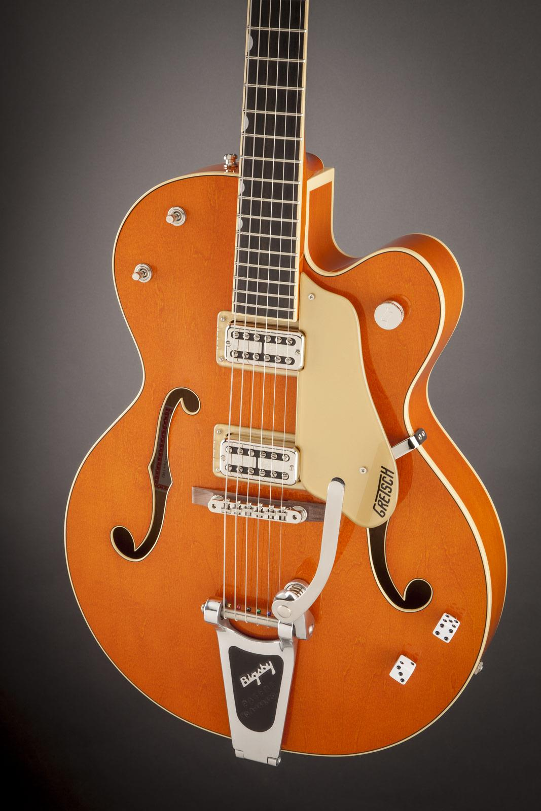 gretsch g6120sslvo brian setzer nashville vintage orange lacquer keymusic. Black Bedroom Furniture Sets. Home Design Ideas
