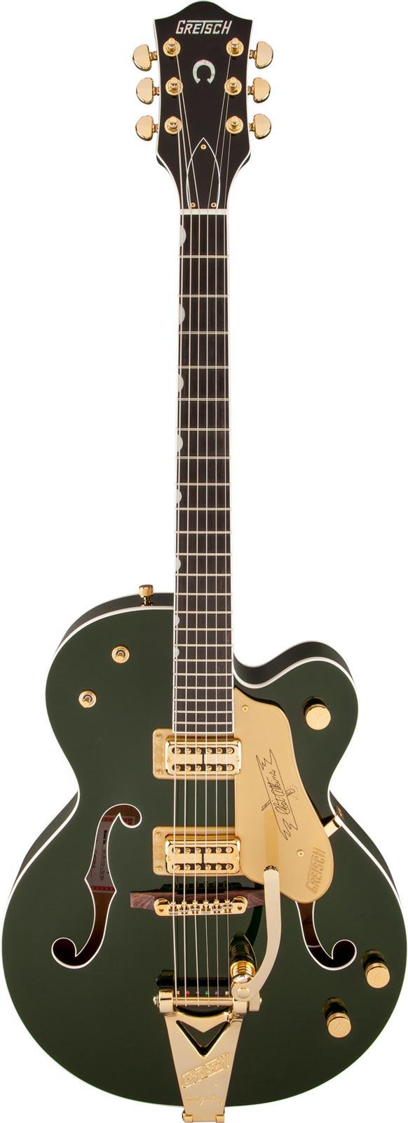 gretsch g6120 chet atkins hollow body cadillac green keymusic. Black Bedroom Furniture Sets. Home Design Ideas