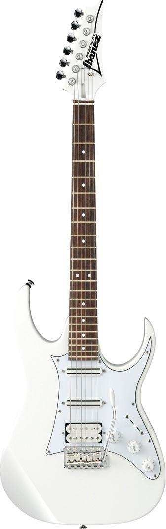 Ibanez AT10RP Andy Timmons Premium Classic White