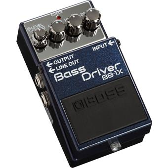 Boss BB-1X  Bass Driver bass distortion/fuzz/overdrive pedal