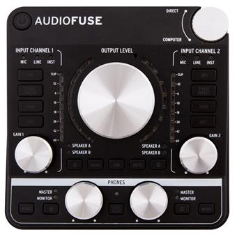 Arturia AudioFuse Black USB audio-interface