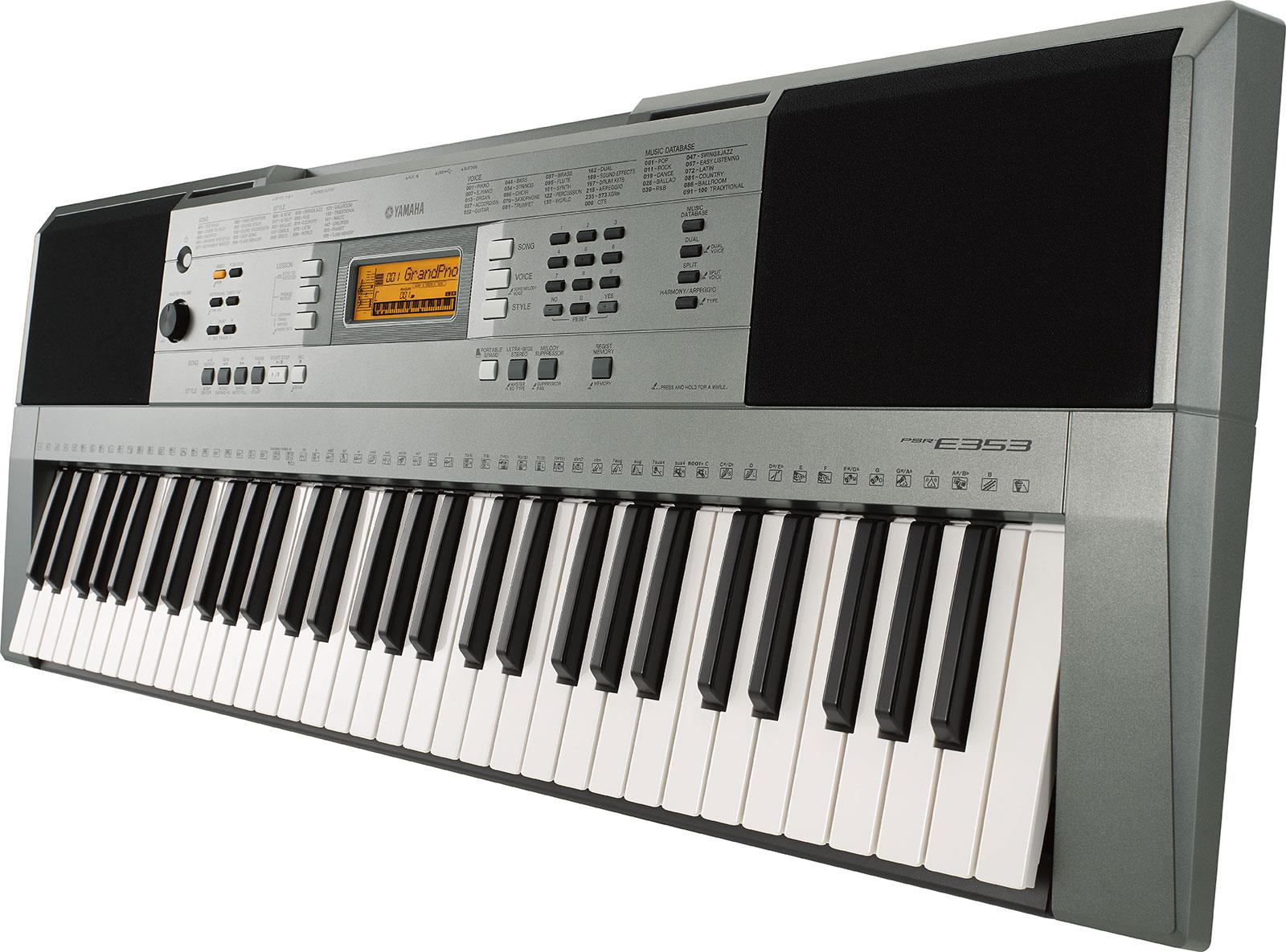 Yamaha psr e353 keymusic for Yamaha psr ew