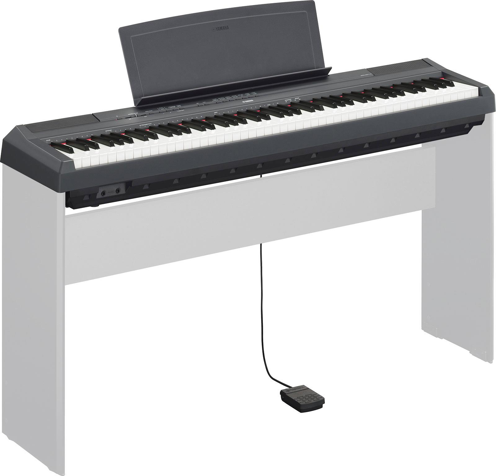 yamaha p 115 black keymusic. Black Bedroom Furniture Sets. Home Design Ideas