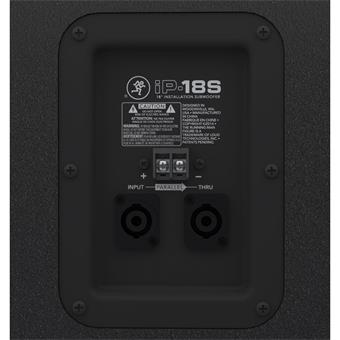 Mackie iP18S passieve subwoofer