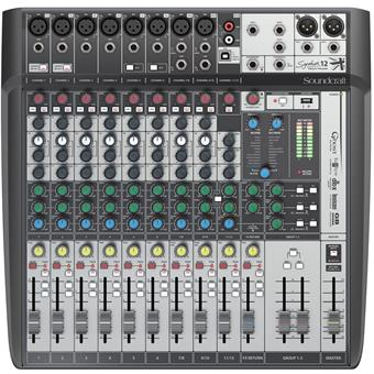 Soundcraft Signature 12 MTK Analoge Mengtafel met USB Interface
