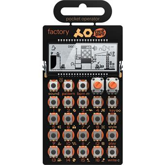 Teenage Engineering PO-16 Pocket Operator Factory Analog-Synthesizer