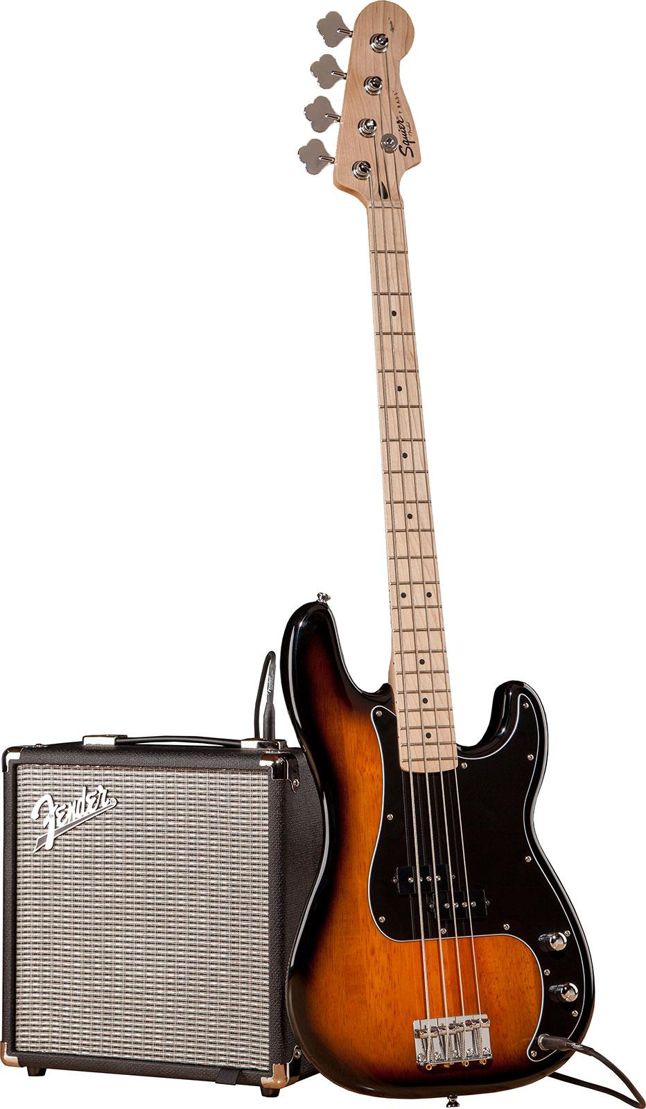 Squier Affinity Precision Bass Pack Rumble 15 Brown