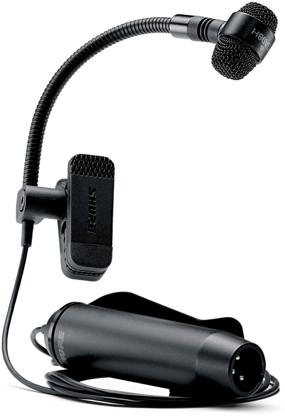 Shure Pga98h With Xlr Preamp Keymusic Electret Microphone To Wiring Together Sc4060 Dpa Microphones For Wind Instrument