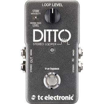 TC Electronic Ditto Stereo Looper delay/echo/looper pedaal