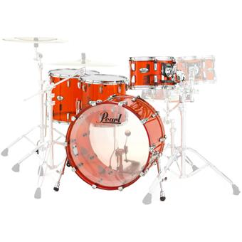 Pearl CRB524FPC 731 Crystal Beat Ruby Red fusion ketelset