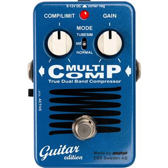 EBS MultiComp GE Guitar Edition compression/boost/dynamics pedaal