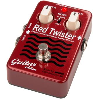 EBS Red Twister GE Guitar Edition reverb/chorus/vibrato/tremolo pedal