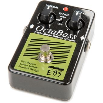EBS OctaBass SE Studio Edition Bass Pitch Shifter/Octaver/Harmonizer Pedal