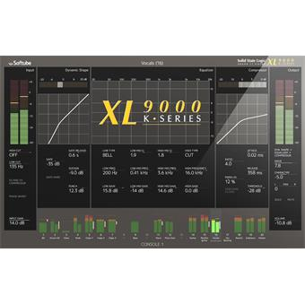 Softube SSL XL9000K Upgrade for Console 1 audio-/effectplugin