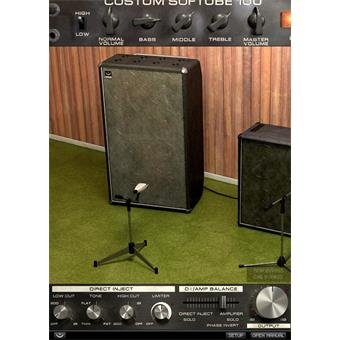 Softube Bass Amp Room Plugin audio-/effectplugin