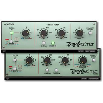 Softube Tonelux Tilt Plugin audio-/effectplugin