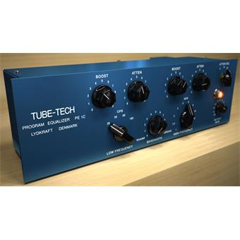 Softube Tube-Tech PE1C Pultec Equalizer Plugin plug-in audio/effet