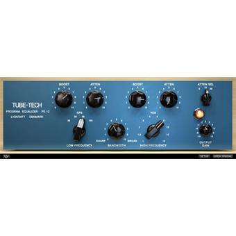 Softube Tube-Tech PE1C Pultec Equalizer Plugin audio/effect plugin