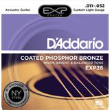 D'Addario EXP26NY Coated Phosphor Bronze Custom Light 11-52
