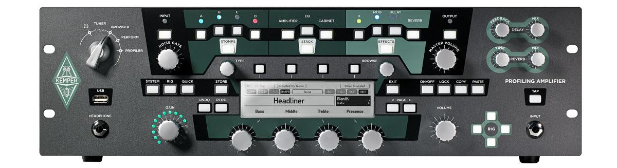 Kemper Profiling Amplifier Rack Set Keymusic