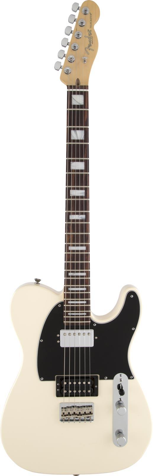 fender limited edition american standard telecaster hh olympic white keymusic. Black Bedroom Furniture Sets. Home Design Ideas