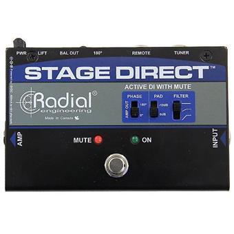 Radial StageDirect Muting DI Box DI-box